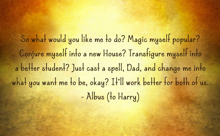 Harry Potter and the Cursed Child Quote - Magic myself popular?