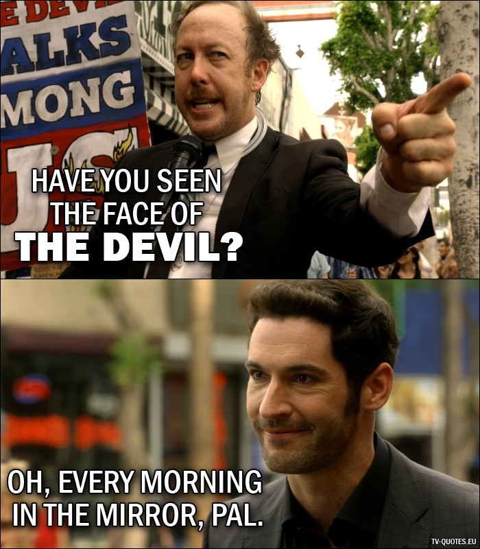 12 Best Lucifer Quotes From Lucifer, Stay. Good Devil