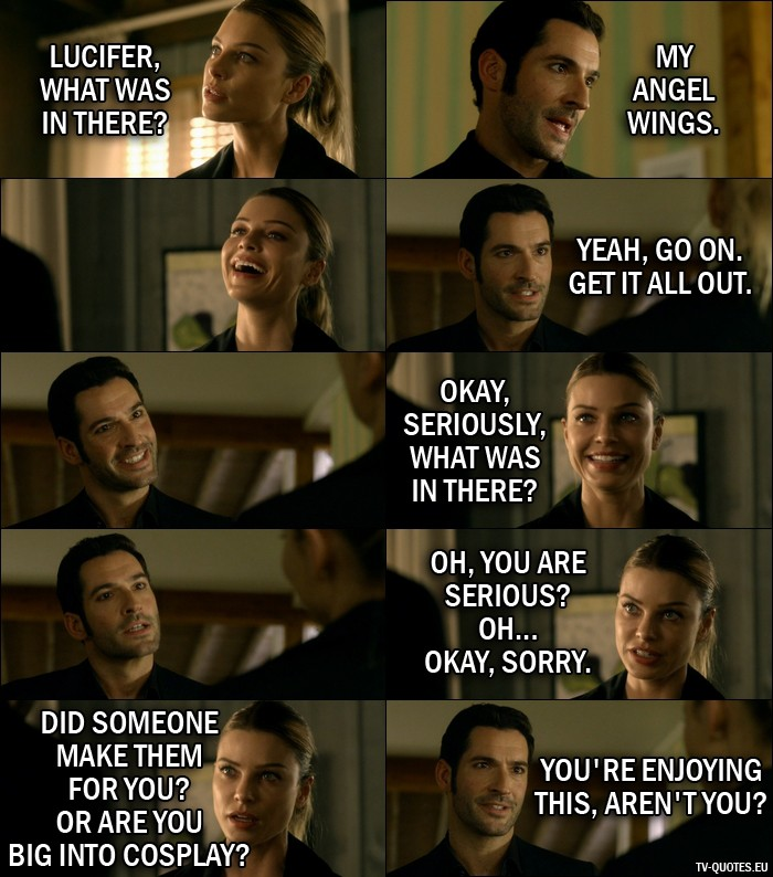 16 Best Lucifer Quotes From Wingman (1x07)