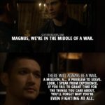 14 Best Shadowhunters Quotes from 'Iron Sisters' (2x06)