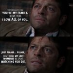 18 Best Supernatural Quotes from 'Stuck in the Middle (With You)' (12x12)