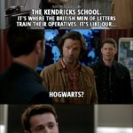 18 Best Supernatural Quotes from 'Ladies Drink Free' (12x16)