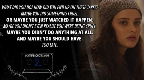 Cruel World Quotes Best 105 Famous Quotes About Cruel: 60+ Best 'Hannah Baker' Quotes