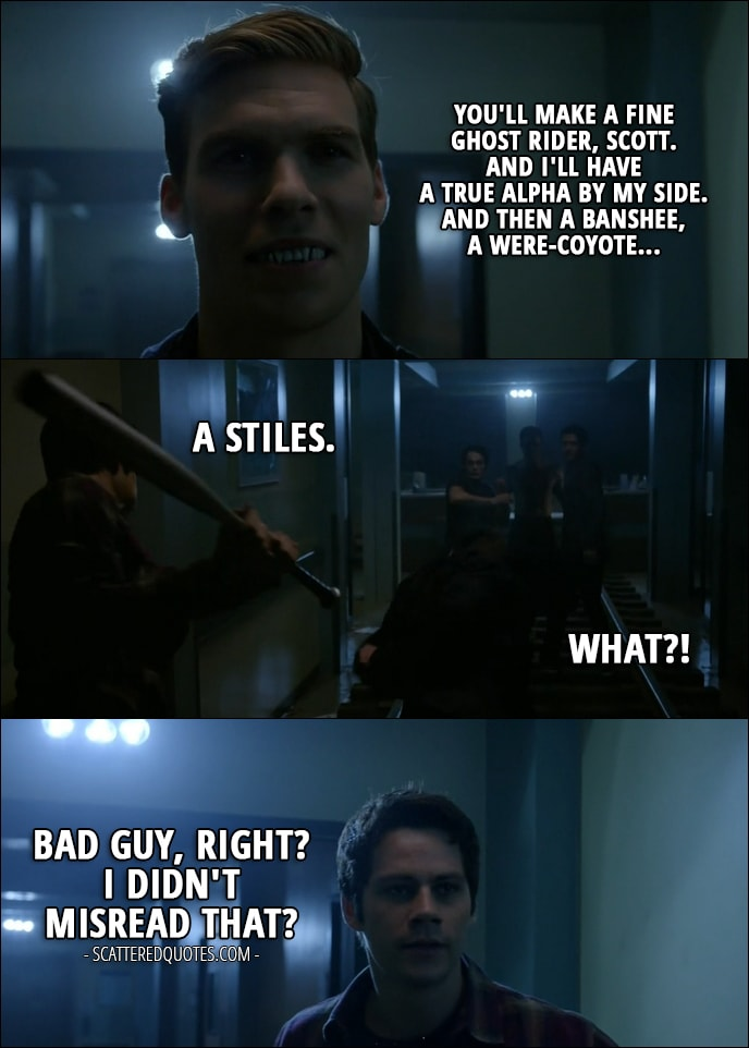 Quote From Teen Wolf 6x10