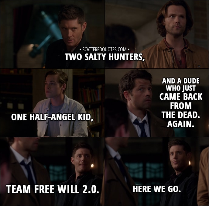Quote From Supernatural 13x06