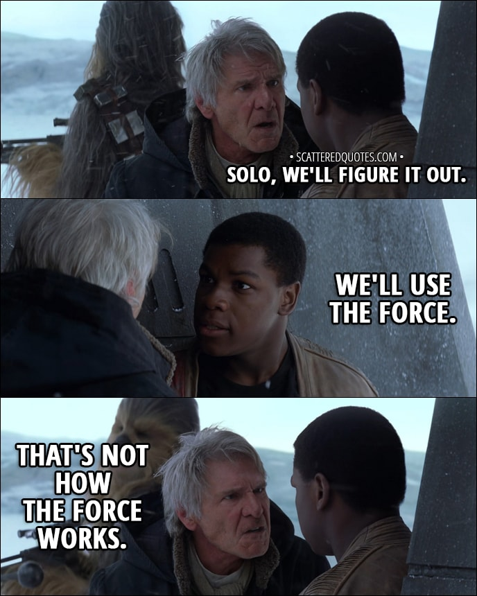 Star Wars Quotes The Force: 20 Best 'Star Wars: The Force Awakens' Quotes (2015