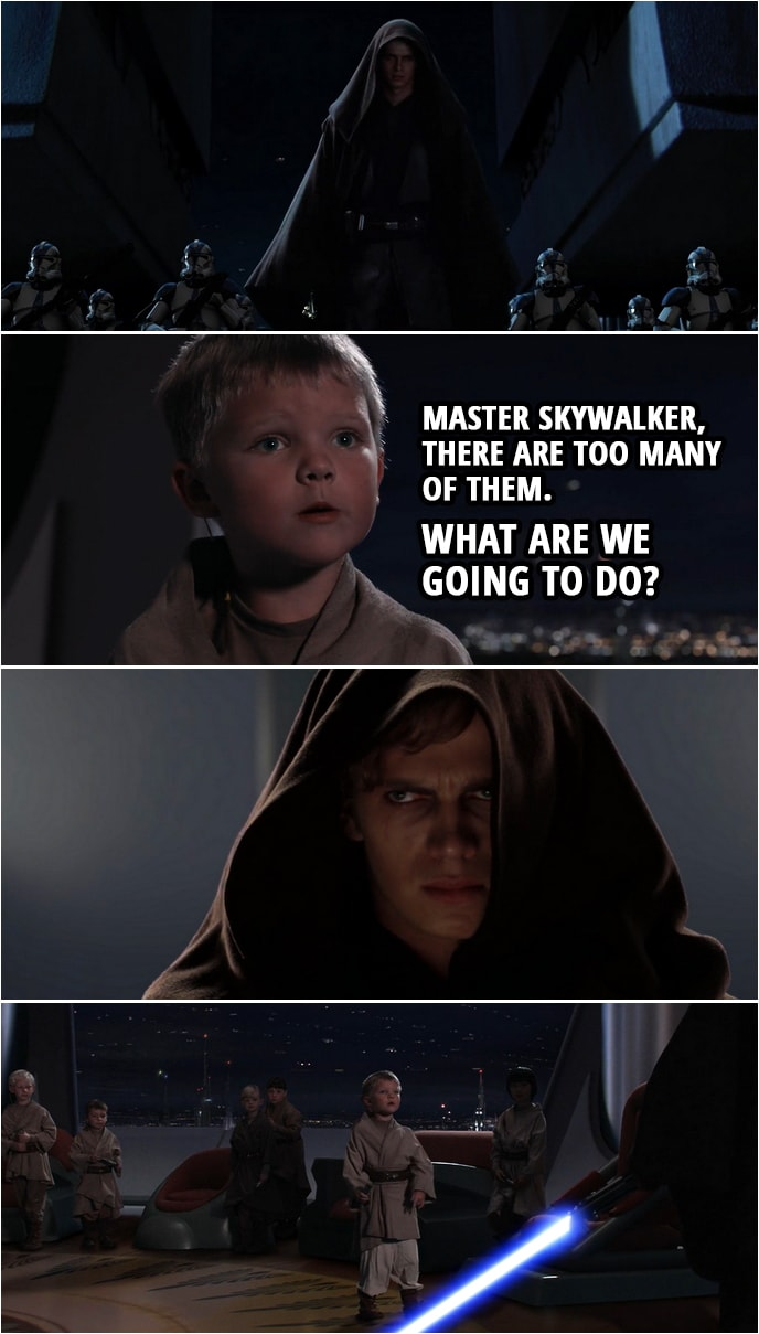 Master Skywalker There Are Too Many Of Them Scattered Quotes