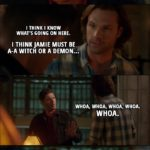 10 Best 'Supernatural' Quotes from 'Various & Sundry Villans' (13x12)