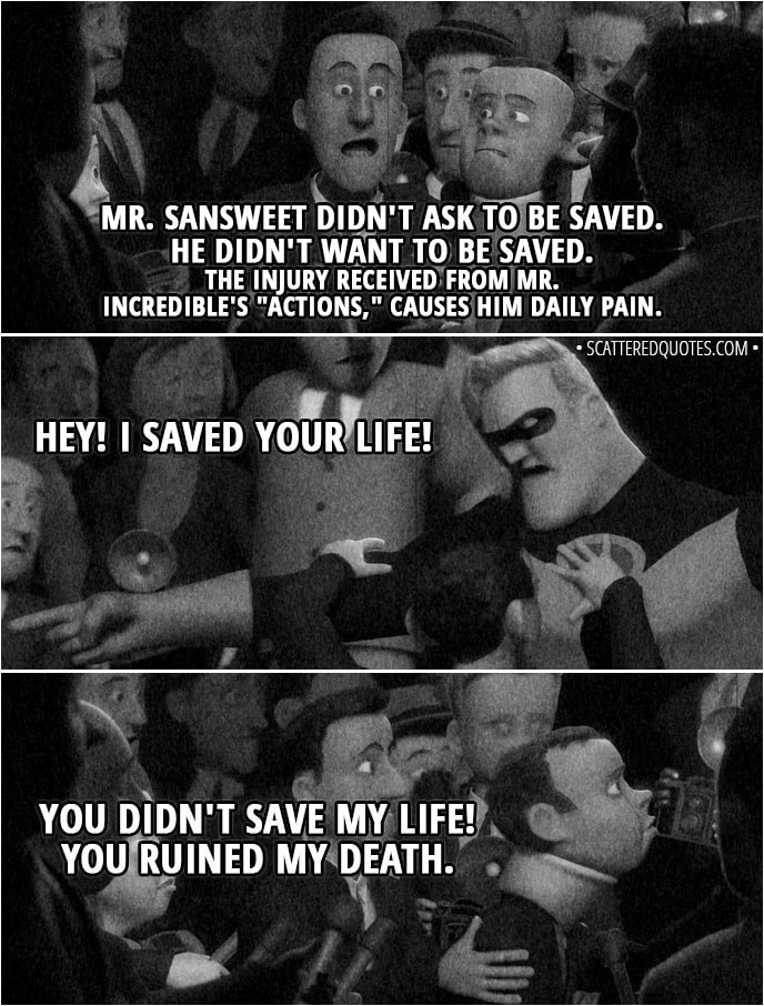 You Didnt Save My Life You Ruined My Death Scattered Quotes