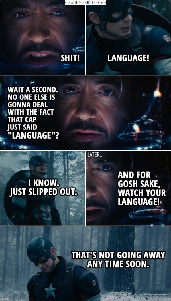 """Quote from Avengers: Age of Ultron (2015) 