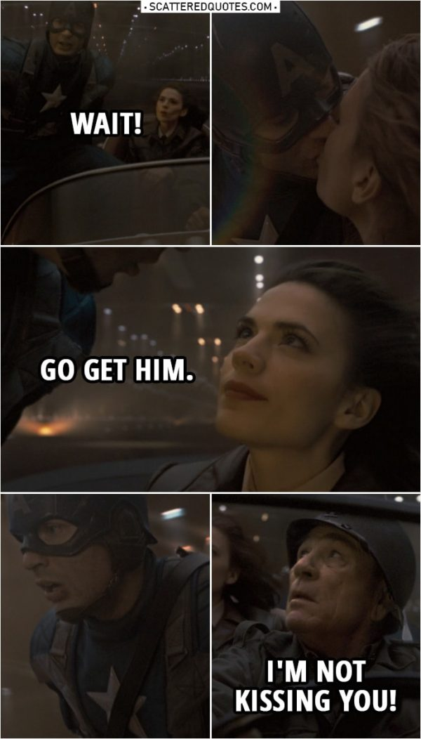 Captain America Quotes To Peggy Carter
