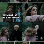 Quote from Harry Potter and the Prisoner of Azkaban (2004) | Draco Malfoy: Look who's here. Come to see the show? Hermione Granger: You! You foul, loathsome, evil little cockroach! (points her wand at Draco's throat) Ron Weasley: Hermione, no! He's not worth it. (Hermione lowers her wand eventually and Draco starts to laugh. She turns back to him and punches him in the face...) Vincent Crabbe: Malfoy, are you okay? Let's go. Quick. (they start to run away) Draco Malfoy: Not a word to anyone, understood? Hermione Granger: That felt good. Ron Weasley: Not good, brilliant.