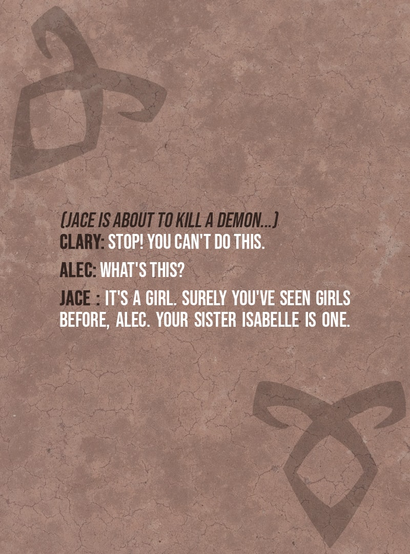 Surely You Ve Seen Girls Before Alec Scattered Quotes